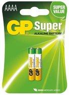GP AAAA super alkaline batterij 2 stuks LR61